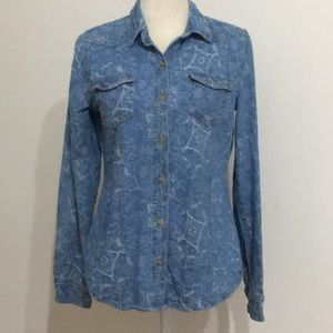 Life in Progress denim women's shirt Msz